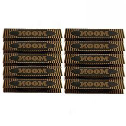 10×32 sheets 108mm King Size Slim Moon Gold Flax Cigarette