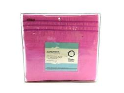 Nestl Bedding 100% Cotton Flannel Pillowcases Queen Pink Pil