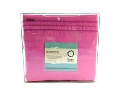 Nestl Bedding 100% Cotton Flannel Pillowcases Queen Pink Pil