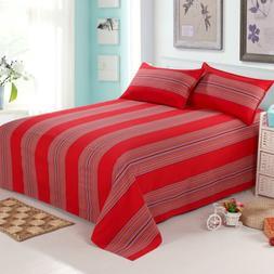 100% Cotton <font><b>sheet</b></font> queen size bed <font><