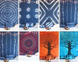 100% Cotton King Size Bed Sheet Home Decor Decorative Tapest