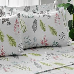 Brielle 100% Cotton Percale Gardenia Bed Linen Collection NE