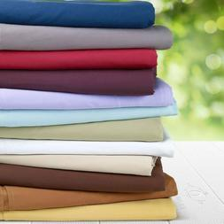 100% Cotton Sheets 550 Thread Count 4PC Bed Sheet Set King o