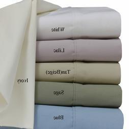 100% Cotton Superior Percale Weave Crispy Soft Deep Pocket 2