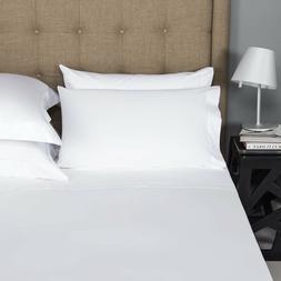 Mayfair Linen 100% Egyptian Cotton Sheets 800TC, White Cal K