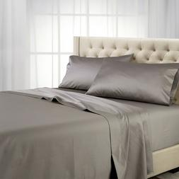1000 Thread Count Bed Sheet Set- Luxury 100% Cotton Solid Sh