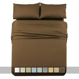 Split King 1000 Thread Count 100% Cotton Bed Sheet Set Thick