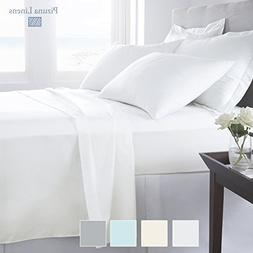 Premium 1000 Thread Count 4pc Sheet Set, 100% Long Staple Co