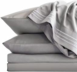 6PCS TasteLife 105 GSM 1800 Bed Sheet Set Brushed Hypoallerg