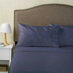 Hotel Style 1100 Thread Count Cotton Rich Sheet Set, 4 Pillo