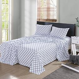 HollyHOME 1500 Soft Hypoallergenic Brushed Microfiber Print