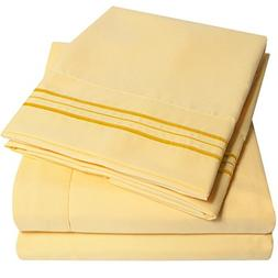 1500 Supreme Collection Bed Sheets Set - PREMIUM PEACH SKIN
