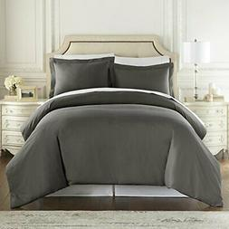 1500 Thread Count Duvet Cover Set, 3pc Luxury Soft, All Size