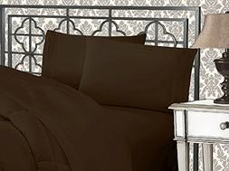 Elegant Comfort 4-Piece 1500 Thread Count Egyptian Quality B