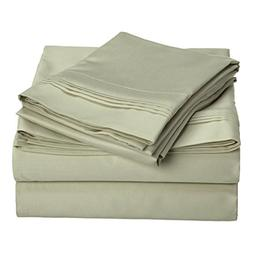 1500 Thread Count 100% Egyptian Cotton, Single Ply, King Bed