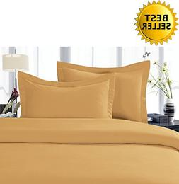 Elegant Comfort 4-Piece 1500 Thread Count Egyptian Quality H