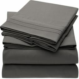 Mellanni 1800 Collection Microfiber Bed Sheet Set - Hypoalle