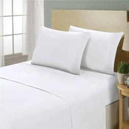 ꙳꙳꙳1800 Thread Count 4 Piece Deep Pocket Bed Sheets Se