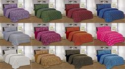 Luxury Home Fashion1800 Series 3/4 Piece Bed Sheet Set, Deep