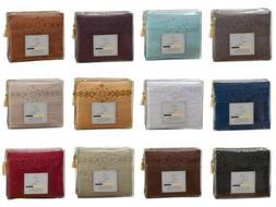 1800 SERIES BED SHEET SET - Clara Clark Logo Pillowcases - A