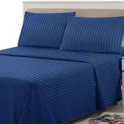 Egyptian Comfort 1800 Count Bed Sheet Set - 4 Piece Deep Poc