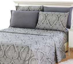 6 Piece Bed Sheets Deep Pocket Egyptian Comfort 1800 Series
