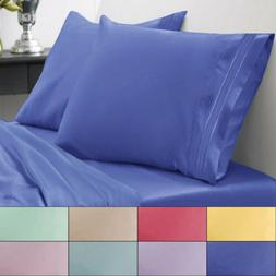 1800 Thread Count Bed Sheet Set Brights Sweet Home Spring/Su