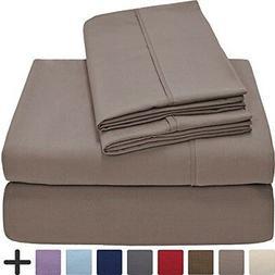 Bare Home Premium 1800 Ultra-Soft Microfiber Collection Shee
