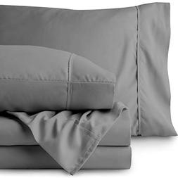 Bare Home 1800 Ultra Collection 5 Piece Split King Sheet Set