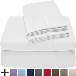 Bare Home Premium 1800 Ultra-Soft Microfiber Sheet Set Twin