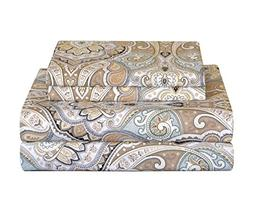 Pointehaven 200 Thread Count Percale Sheet Set King Cedar