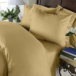 Elegant Comfort 3 Piece 1500 Thread Count Ultra Soft Gold Ki
