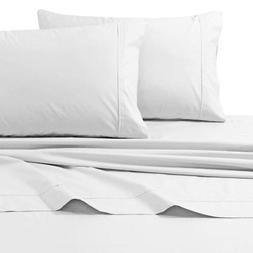Tribeca Living 300 TC Egyptian Cotton Percale 4-Piece Sheet