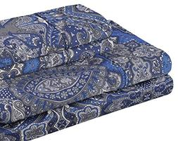 Superior 300 Thread Count Cotton Alderwood Print Sheet Set,