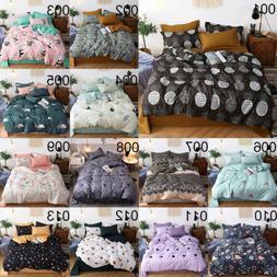 39 Spring Styles Quilt Duvet Cover Set Flat Sheet Pillowcase