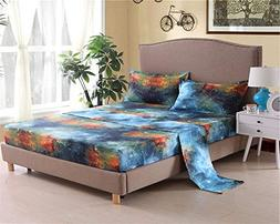 Bedlifes Galaxy Sheets Outer Space Sheet Set Galaxy Themed S