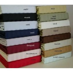 Scala 4 pc bedding Sheet Set Organic Cotton 1000 Count Selec