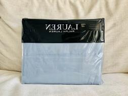 4-pc ☆ RALPH LAUREN ☆ FULL Sheet Set MIST Blue 100% Cott