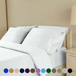 4 piece deep pocket bed sheet comfort
