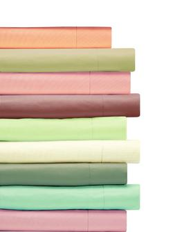 REAL COTTON COLLECTION 400 TC 100% COTTON 1 PC SOLID FITTED