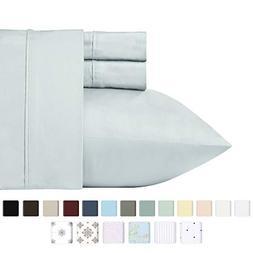 California Design Den 400 Thread Count 100% Cotton Sheets -