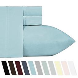 California Design Den 400 Thread Count 100% Cotton Sheet Set