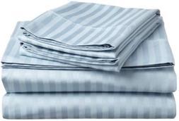 Rinku Linen 400 Thread Count 100% Egyptian Cotton 4-Piece Sh