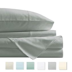Pizuna 400 Thread Count Cotton King Cotton Sheets Set, 100%