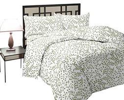 Rajlinen King Size Sheet SET-100% Cotton- 400 Thread Count-
