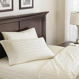 400-Thread Count Damask Sheet Set