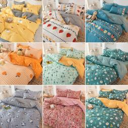 4pcs Bedding Set Duvet Cover Set Comforter Covers Flat Sheet