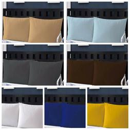 50% Cotton 400 TC  Pillow Case Set Standard And King Size Se