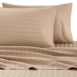 Wamsutta 500 King Sheet Set Thread Count PimaCott | Stripe T