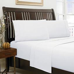 "Cotton King 500 TC SHEET SET WHITE KING SIZE IN 10"" DEEP POC"